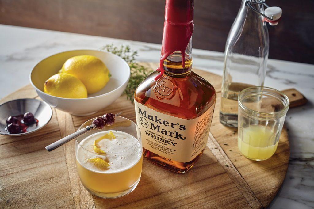 Maker's Mark Whisky Sour