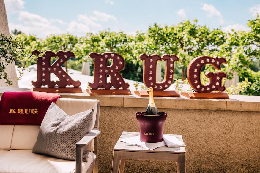 Krug Terrace Dolder Grand Neon Sign